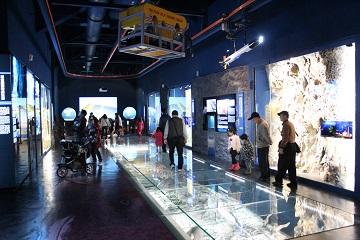 深海展示廳及深海影像廳